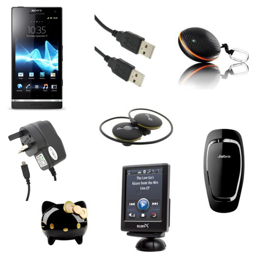Sony Ericsson Xperia S Accessories